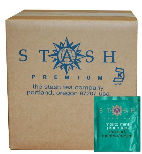 Stash Tea Mojito Mint Green Tea, 100 Count Box of Tea Bags in Foil * Read more at the image link. #TeaSamplers