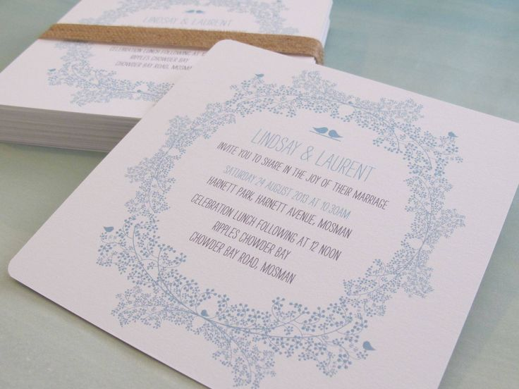 Love Birds wedding invitations.  The Paper Mint || thepapermint.com.au