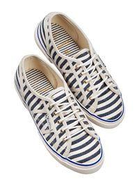 Superga® Collaboration - Gestreepte schoenen