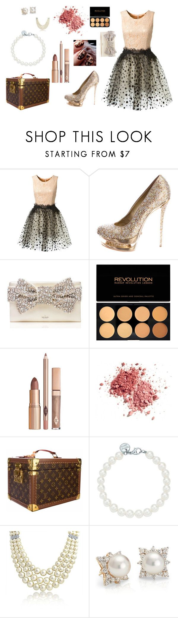 """""""Sem título #161"""" by natalia-farias ❤ liked on Polyvore featuring Loyd/Ford, Gianmarco Lorenzi, Kate Spade, Louis Vuitton, Tiffany & Co., Bling Jewelry and Blue Nile"""