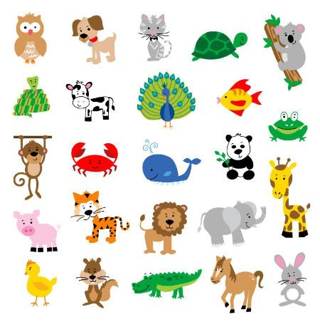 animals animal cartoon draw zoo easy wild cartoons clip babies clipart rofl lol toddler brokenboxdesigns designs resolution puppies cliparts jungle