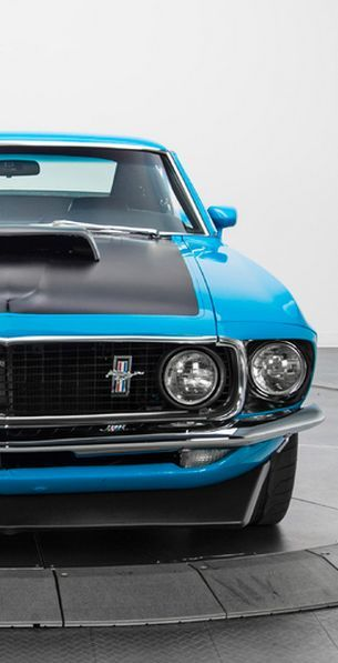 This Ford Mustang Boss 302 has the old school looks that we all desire, with outstanding modern performance. Click the image to be blown away! #musclecar #spon