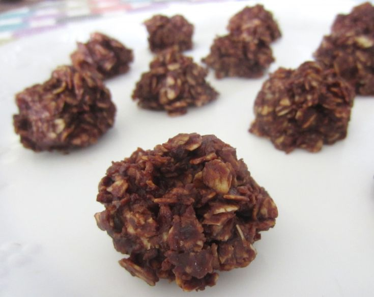 No Bake Chocolate and Peanut Butter Oat Clusters. I used to love ...