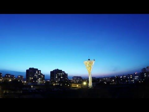 Sunrise and sunset (small Polish city) timelapse movie recorded GoPro Hero 4 - YouTube