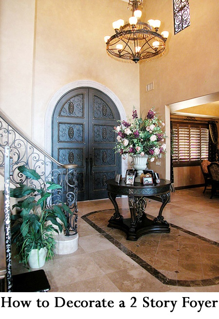 Two Story Foyer Decor : Best story foyer ideas on pinterest wasted space