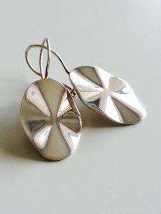 925 ayar gümüş,taşsız küpe(KP00055)