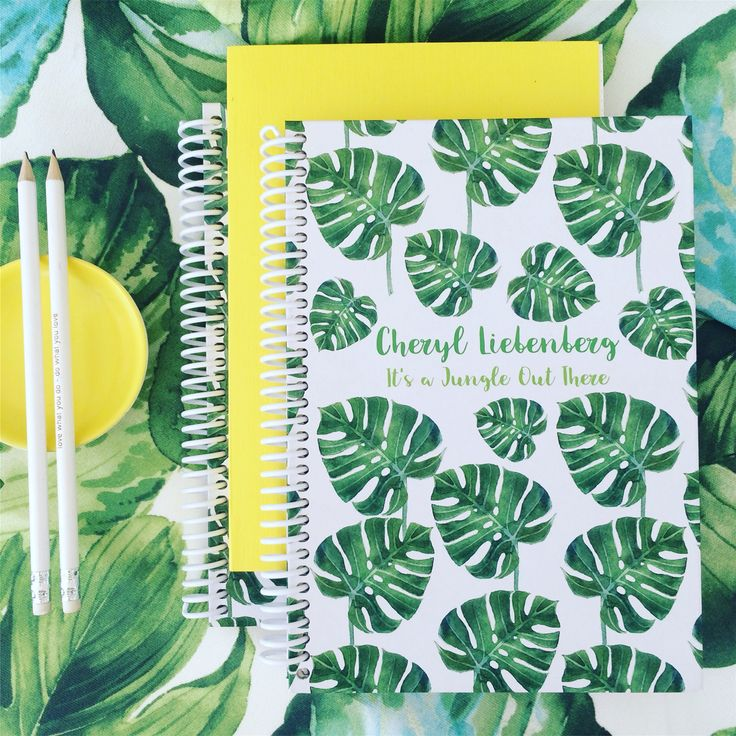 Personalized journals and notepads from macaroon.co.za