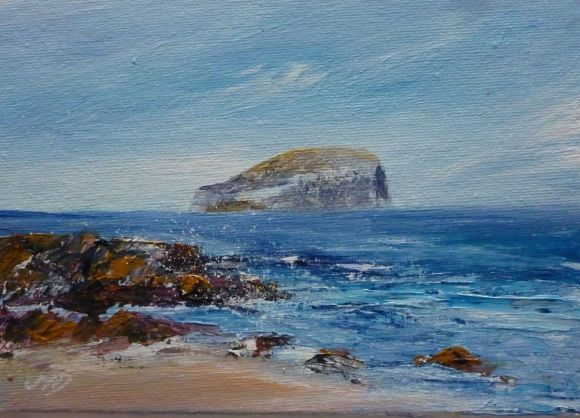 Looking to the Bass Rock