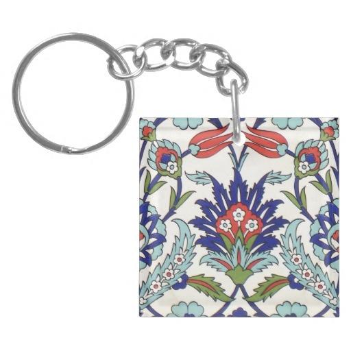 iznik ceramics Key Chain