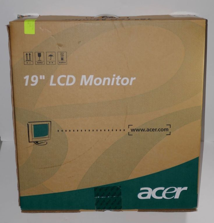Acer 19-inch LCD Flat Panel Monitor #AL1912 b  #Acer