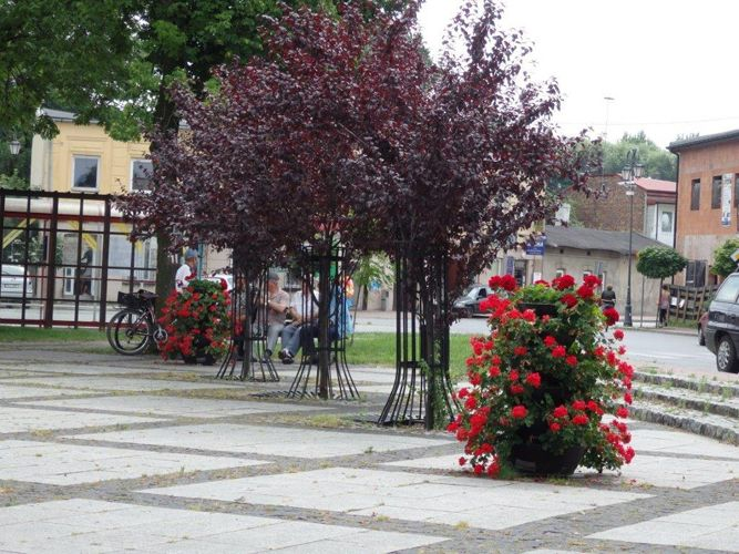 terra flower towers in mstów