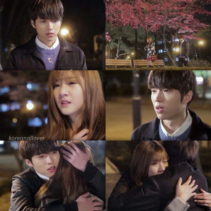 Seulbi and Woohyun ( this last episode from hi school love on gave me feels, they are defo goals)