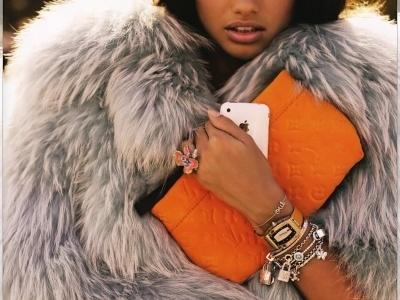 fur+orange..two favorites