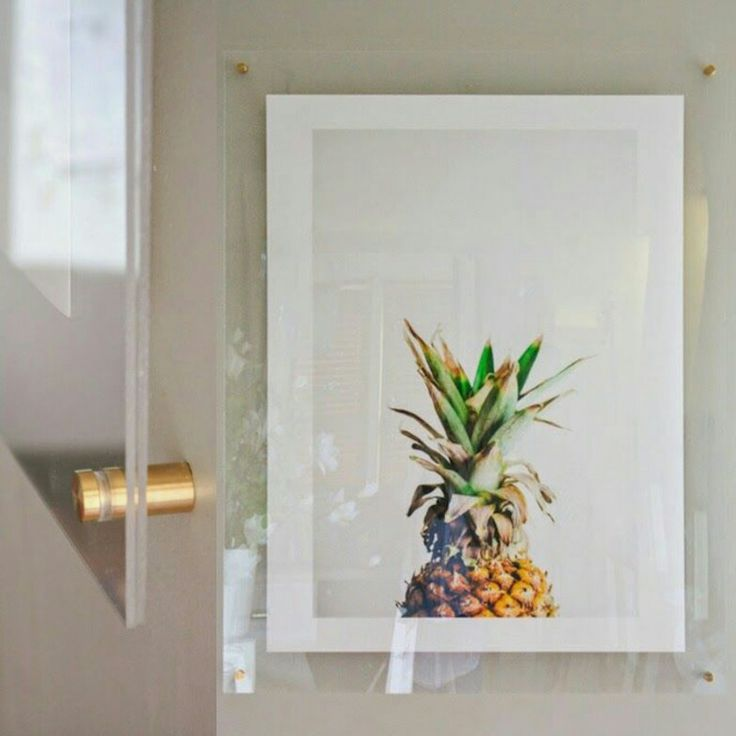 Frame Your Own Art With Acrylic Amp Hardware From Home Depot
