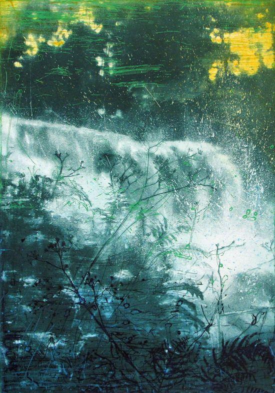 Frank Brunner - Lysdrag - grønn