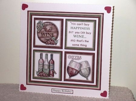THE BEER & WINE DRINKERS 7.5 Quick Layer Cards & Inserts Bumper Kit - CUP871054_68 | Craftsuprint