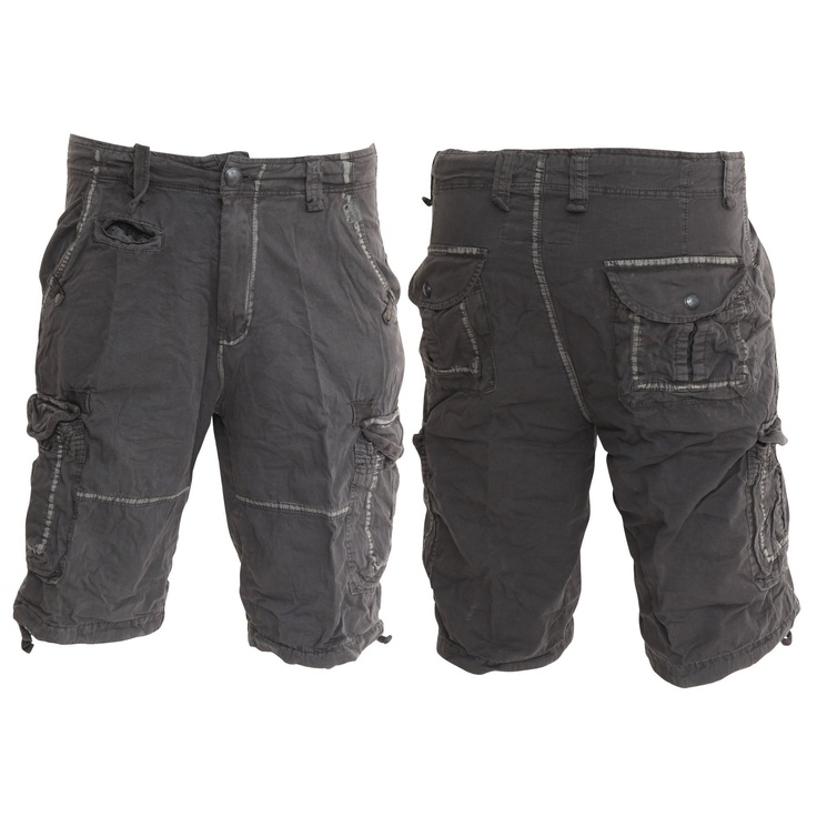 Brave Soul Mens Casual Wear Cargo Shorts