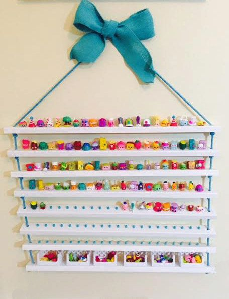 Shopkins Display Shelf Shopkins Storage by CactusHillCottage