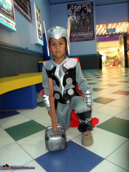 Mini Thor - Halloween Costume Contest via @costume_works