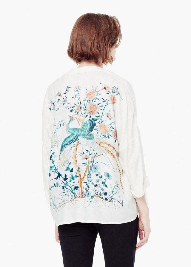 White Peacock Kimono Available at Pasa Boho
