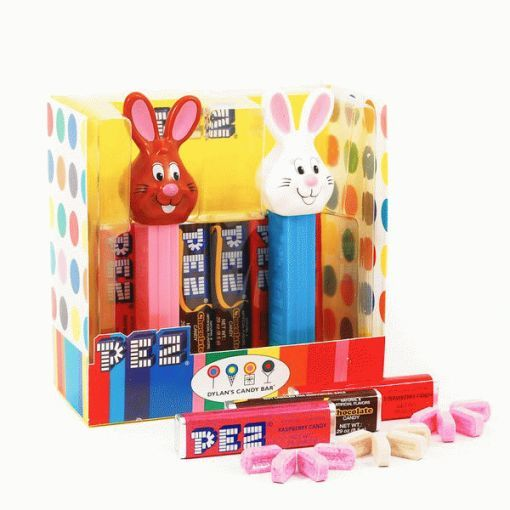 Pez Signature Chocolate and Vanilla the Bunny Pez Set