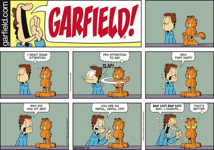Garfield by Jim Davis for Jul 16, 2017   Read Comic Strips at GoComics.com