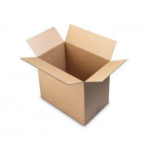 Caja con solapas abierta