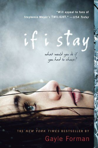 If I Stay, I love this book!Worth Reading, Ifistay, Young Adult, Book Worth, If I Stay, Good Book, Reading Lists, Gayle Forman, Ya Book