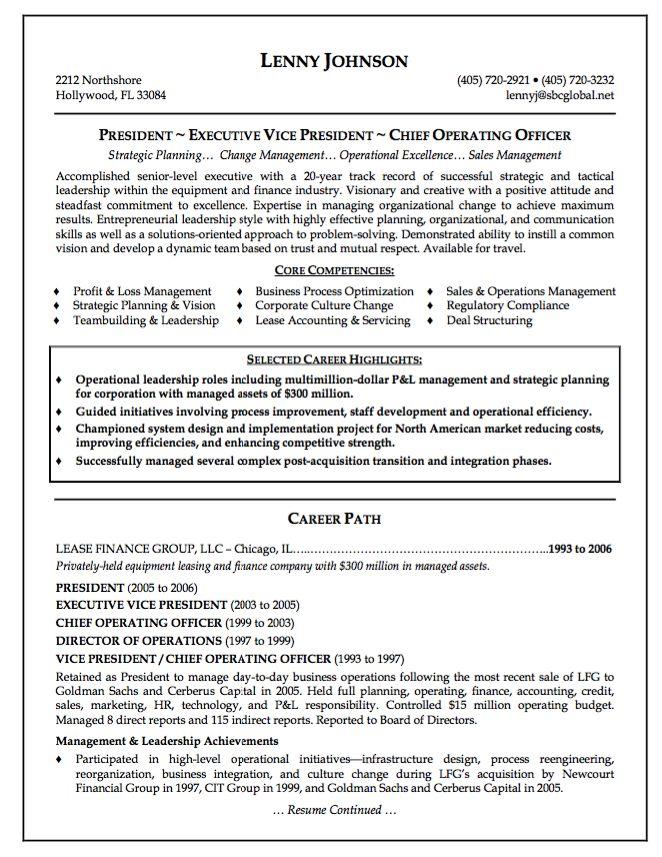 Sample Resume Senior Chief operating Officer - http://resumesdesign.com/sample-resume-senior-chief-operating-officer/
