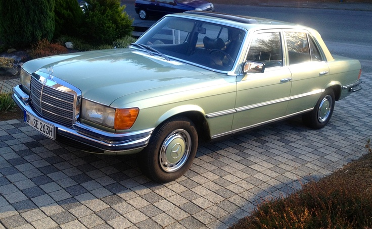 Mein Mercedes 280SE Bj.73 W116
