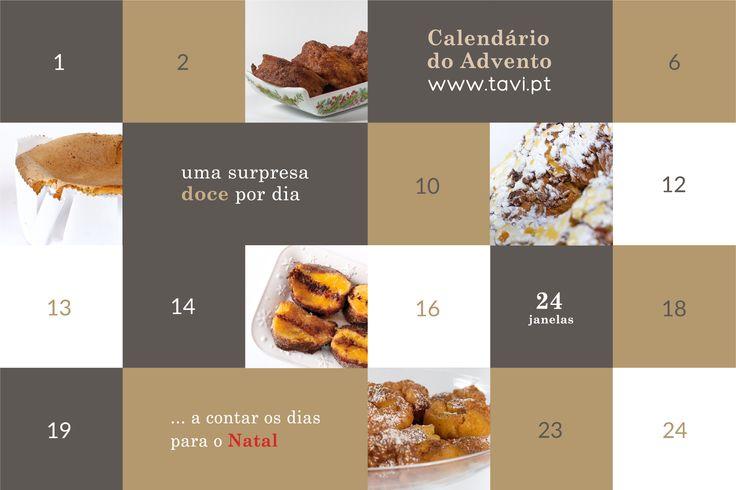 Calendário do advento online · Tavi - Confeitaria da Foz