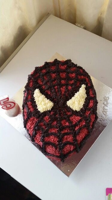 Spiderman butter cream