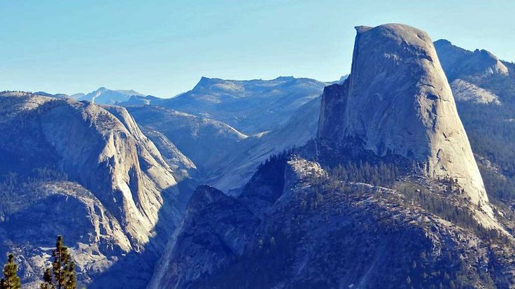 Half Dome, Washburn Point, Yosemite, California, USA