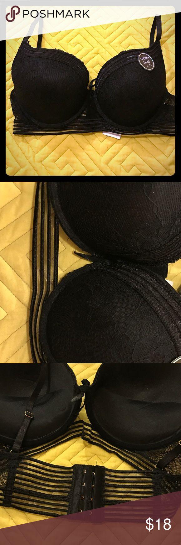 Black bra Size 36D a little big on me. New Intimates & Sleepwear Bras