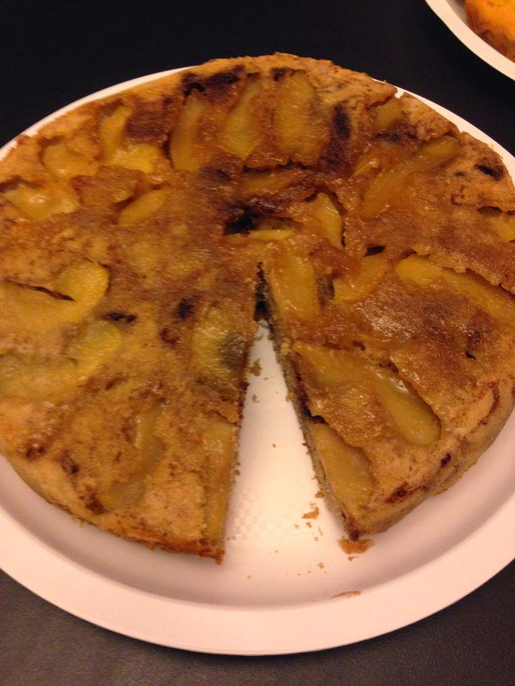 ⇒ Bimby, le nostre Ricette - Bimby, Torta Rovesciata di Mele e Nutella