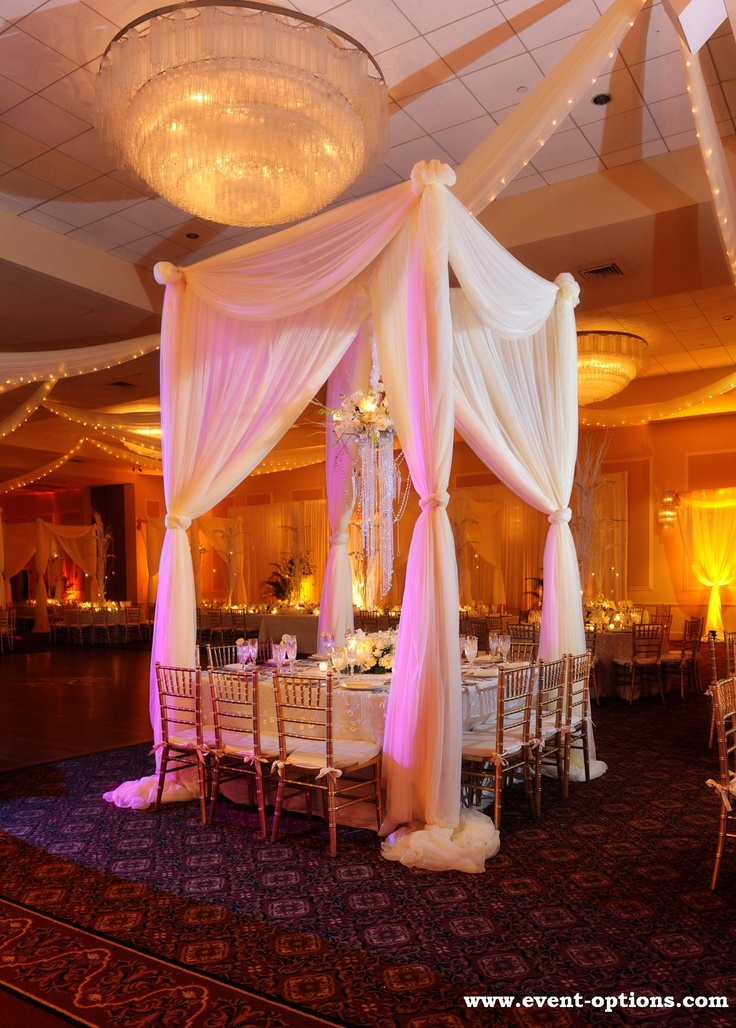 black white purple wedding reception%0A white canvas tent makes for a perfect sensual and romantic dinner setting  for an elegant party    Wedding Decoration PicturesWedding