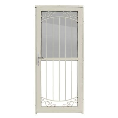 Unique home designs waterford almond outswing all season for New screen door home depot