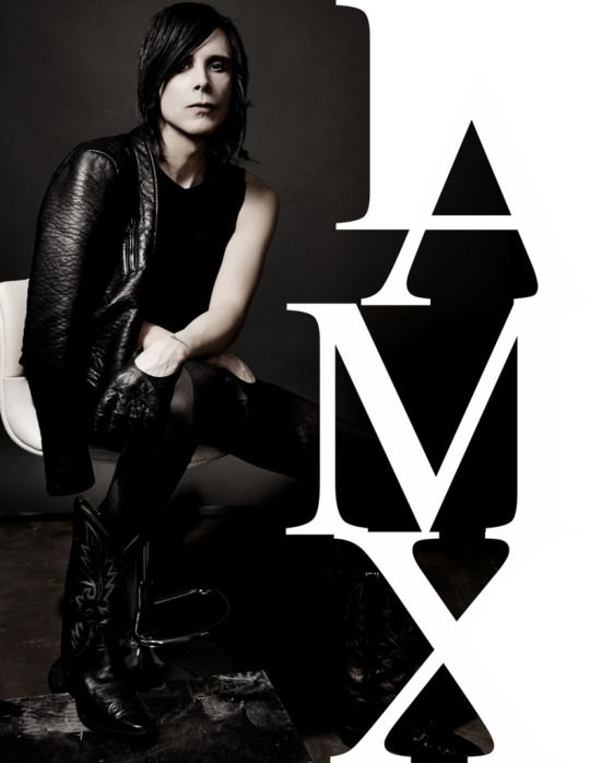 IAMX. What a beautiful man, and what a fantastic show!! Saw/met them at Riot Room in KC.