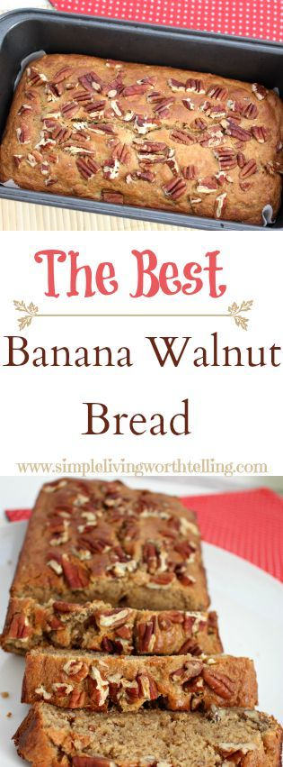 EGGLESS BANANA WALNUT BREAD/CAKE Eggless & Butterless  still Super Moist and Delish!!! Enjoy!!!