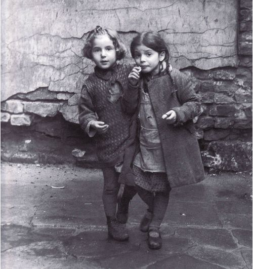 """Roman Vishniac     Young Jewish Girls, Warsaw      1935  """"These are the faces of children I embraced and kissed and loved. I cannot imagine that they are dead, that none would survive… A million and a half children among the six million… But this I knew… I wanted to save their faces, not their ashes."""" Roman Vishniac"""