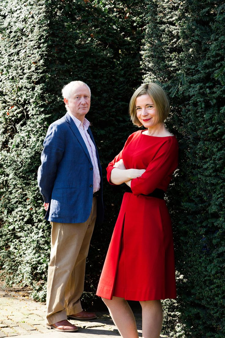 Giles Waterfield & Lucy Worsley: 'I gave a talk about a woman who went