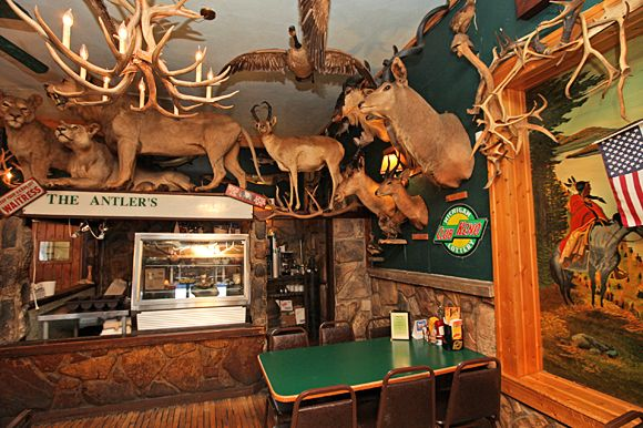 Ate there many years ago - very unique! The Antler's Restaurant in Sault Ste. Marie, MI