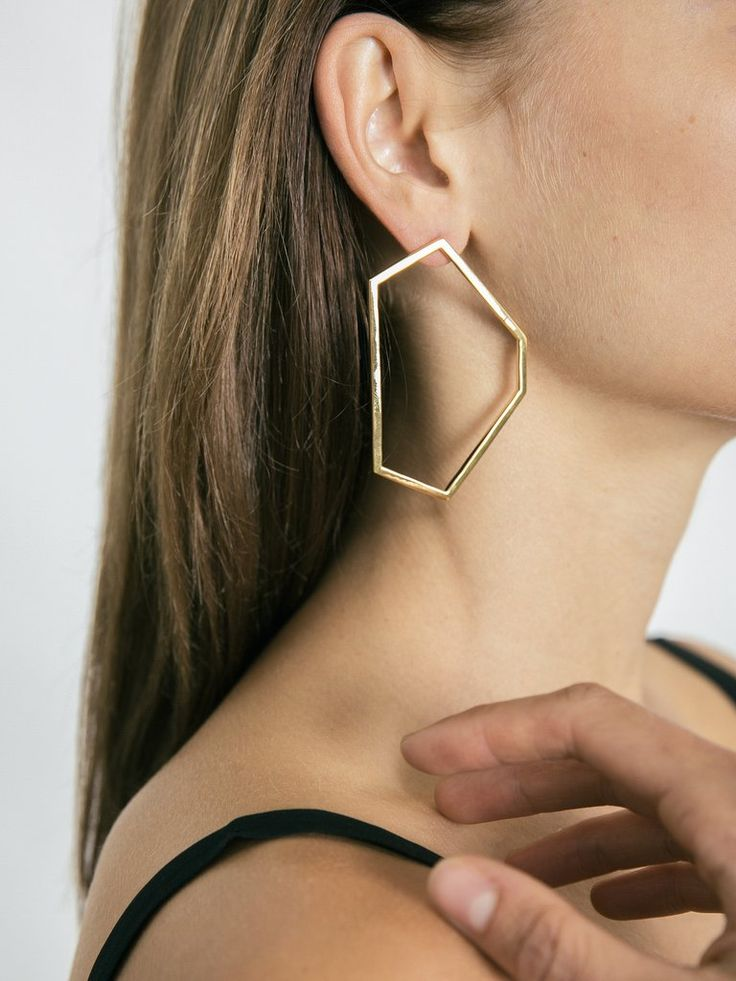 HOLLY RYAN | Exclusive Taxco Earrings in Gold | The UNDONE by Holly Ryan