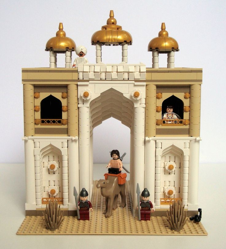 LEGO Prince of Persia MOC - Alamut Gate - frontal view