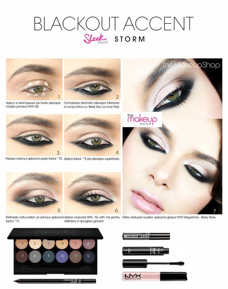 Sleek Storm Eyeshadow Palette - Makeup Shop