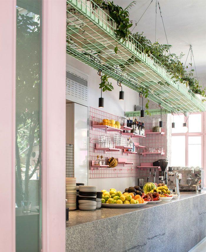 Colorful Vegan Restaurant in Tel Aviv