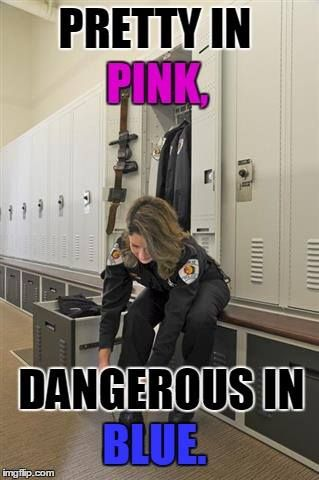 PRETTY IN PINK Law Enforcement Today www.lawenforcementtoday.com