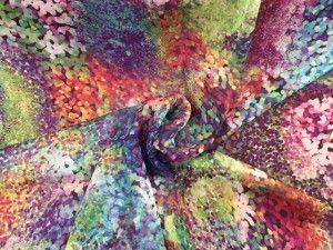 Voile fantasia multicolor