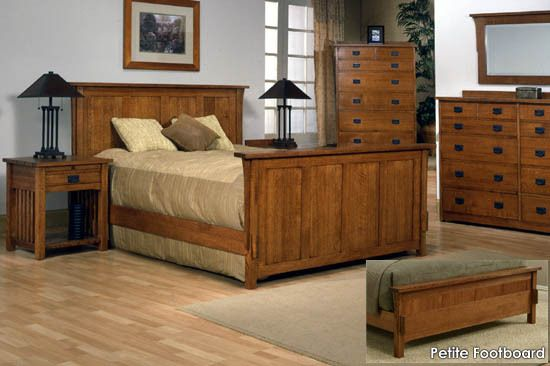 e-Gallery Furniture - Mission Style Classic Craftsman Panel Bed, #HOME #BEDROOM $1,499.95 (http://www.egalleryfurniture.com/mission-style-classic-craftsman-panel-bed/)