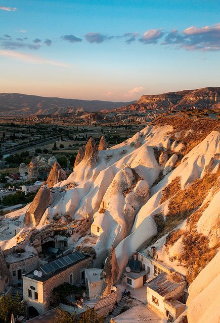 Ancient Cave Rooms, Goreme, Cappadocia, Turkey